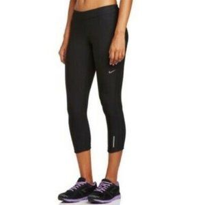 Nike DriFit Stay Warm Relay Running Cropped Tights
